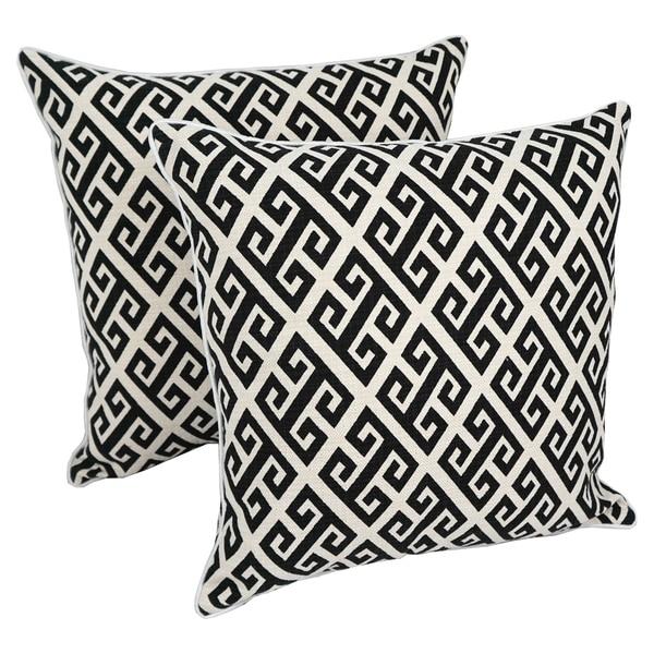 Blazing Needles 18-inch Indoor Designer Throw Pillows ( Set of 2). Opens flyout.