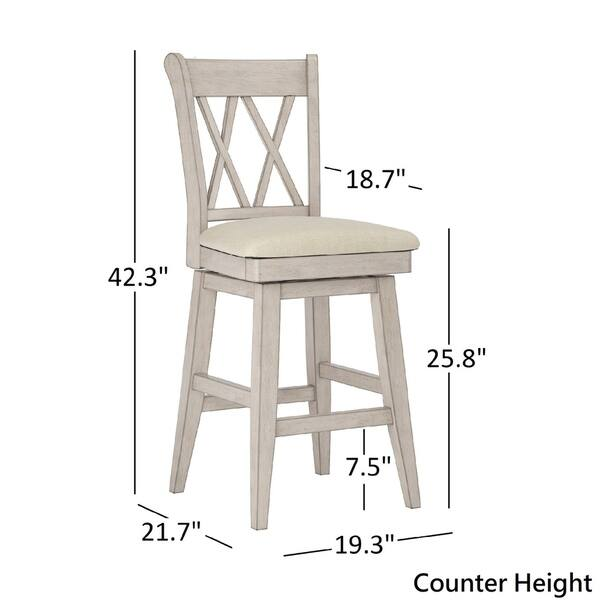 Enjoyable Shop Eleanor Double X Back Wood Swivel Chair By Inspire Q Uwap Interior Chair Design Uwaporg