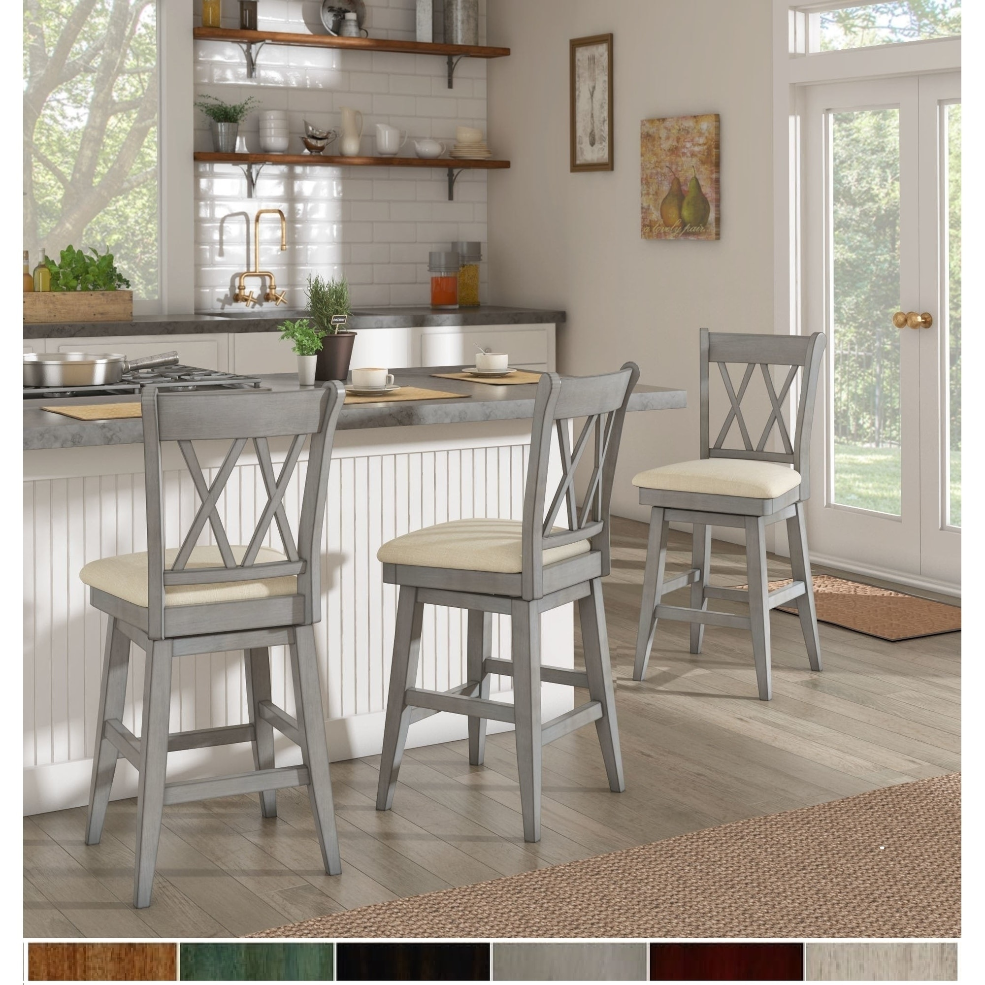 Fabulous Buy White Kitchen Dining Room Chairs Online At Overstock Onthecornerstone Fun Painted Chair Ideas Images Onthecornerstoneorg