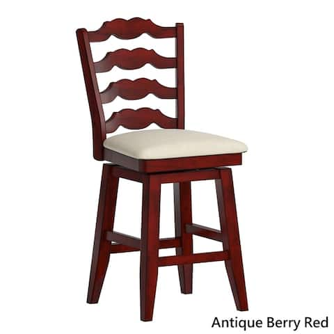 Buy Red Counter Height 23 28 In Counter Bar Stools Online At