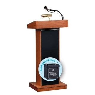 Orator Lectern and Rechargeable Battery