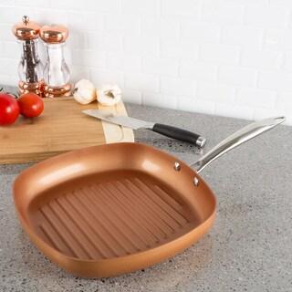 Classic Cuisine Copper Grill Pan