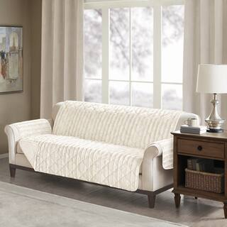 Buy Neutral Sofa & Couch Slipcovers Online at Overstock ...