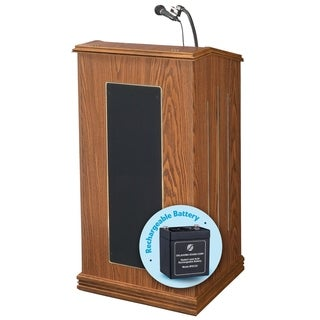 Prestige Lectern and Rechargeable Battery