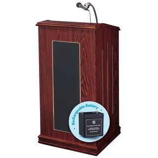 Prestige Lectern and Rechargeable Battery (Option: Purple)
