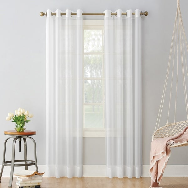 No. 918 Emily Sheer Voile Grommet Curtain Panel