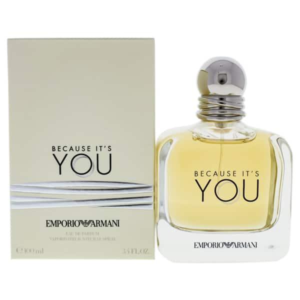 Emporio Armani Because It S You Women S 3 4 Ounce Eau De Parfum Spray On Sale Overstock 20457313