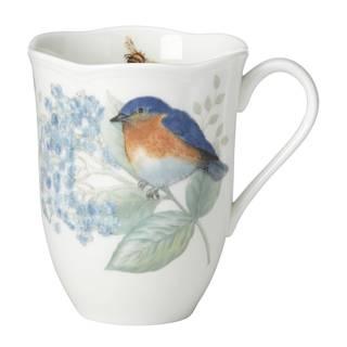 Lenox Butterfly Meadow Flutter Eastern Bluebird Mug