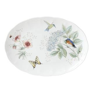 Lenox Butterfly Meadow Flutter Oval Platter