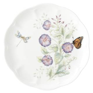 Lenox Butterfly Meadow Flutter Eastern Bluebird Accent Plate