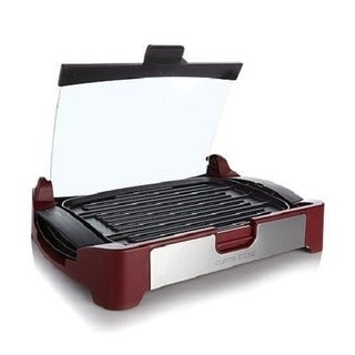 Curtis Stone Nonstick Reversible Grill/Griddle with Glass Lid