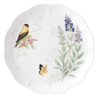 Lenox Butterfly Meadow Flutter Goldfinch Dinner Plate