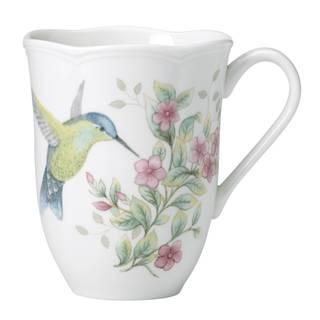 Lenox Butterfly Meadow Flutter Hummingbird Mug
