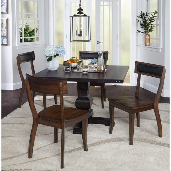 Simple Living Heston 5-Piece Pedestal Dining Set