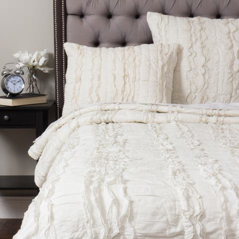 Harrison Cotton Off-White Quilt