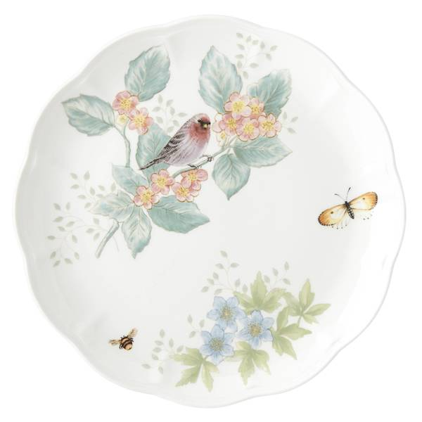 Shop Lenox Butterfly Meadow Flutter Red Poll Finch Dinner
