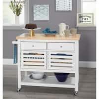 Simple Living Norfolk Kitchen Cart