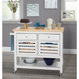 Simple Living Norfolk Kitchen Cart