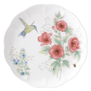 Lenox Butterfly Meadow Flutter Hummingbird Dinner Plate