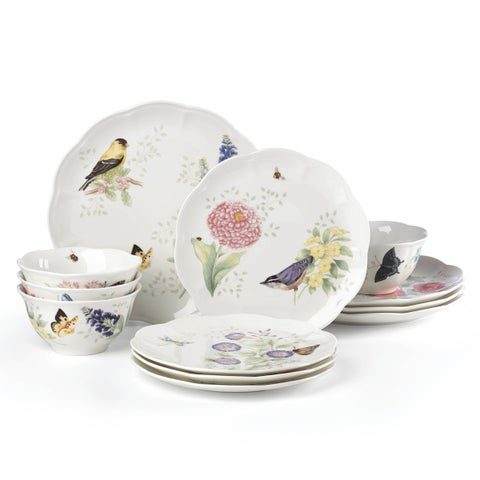 Lenox Butterfly Meadow Flutter 12 Piece Set
