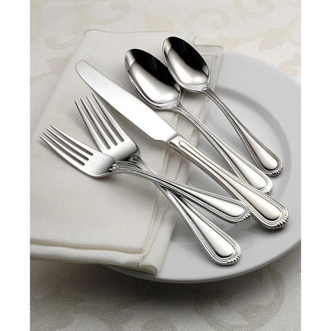 Oneida Countess Stainless Steel 65-Piece Flatware Set -Service for 12