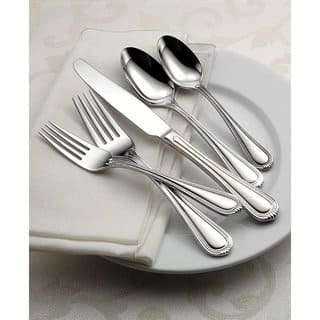 Oneida Countess Stainless Steel 65 Piece Flatware Set Service For 12