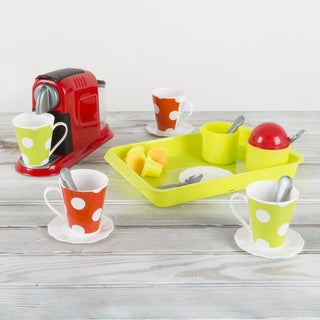 Coffee Maker Pretend Kitchen Toy Set by Hey! Play!