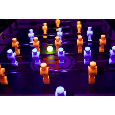 Black Light Foos Balls Set of 8