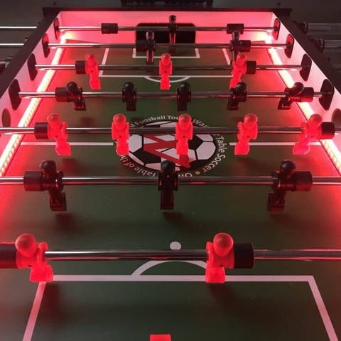 Warrior Professional LED Foosball Table