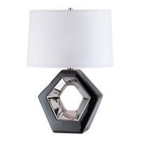 Nova Lighting Zone Reclining Table Lamp, Black