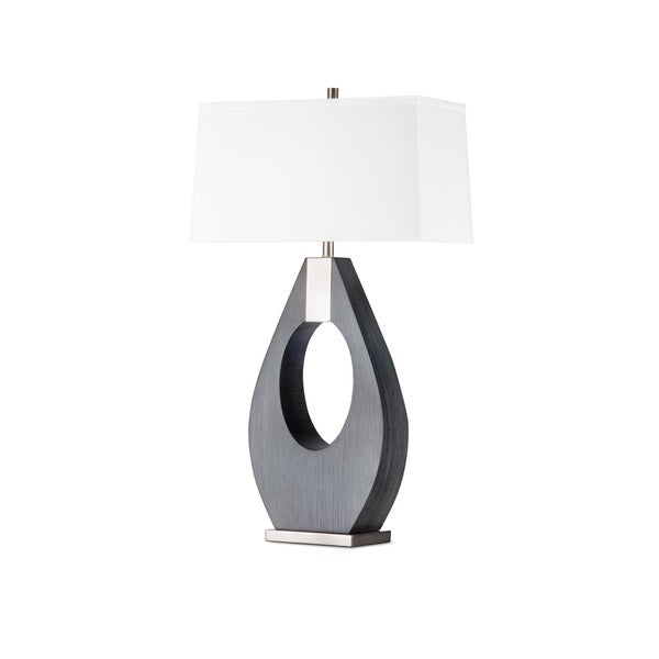 Nova Lighting Pearson Table Lamp, Charcoal Gray