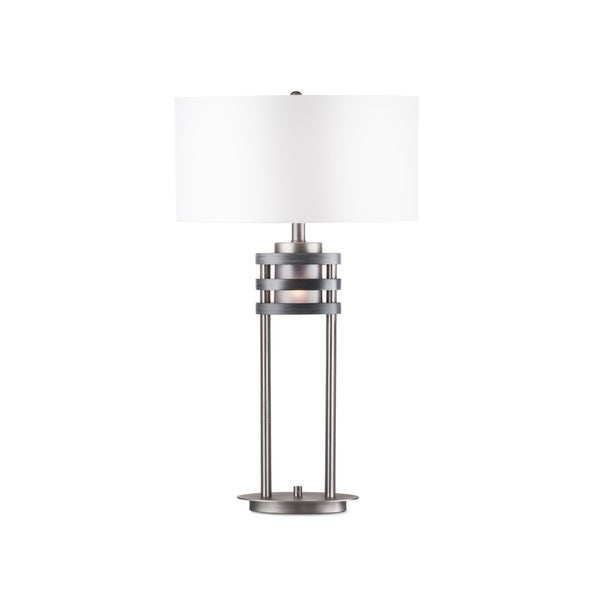 Nova Lighting Kobe Table Lamp, Charcoal Gray