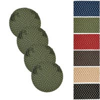 Mission Hill Braided Chair Pads (Set of 4)