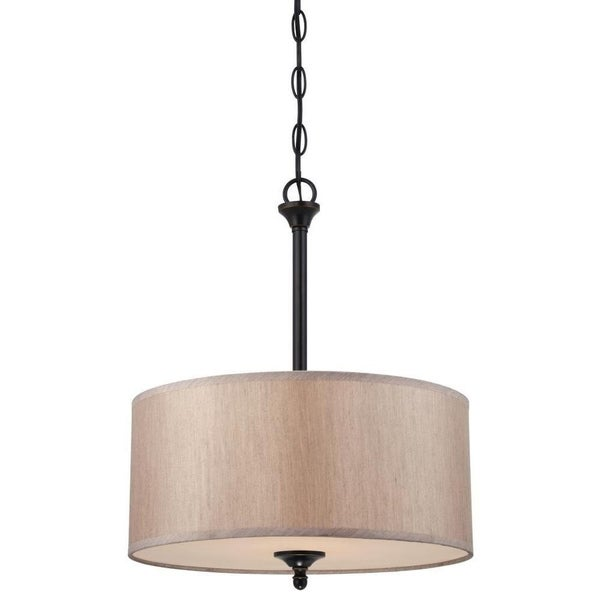 Westinghouse 2-Light Convertible Pendant/Semi-Flush Ceiling Fixture