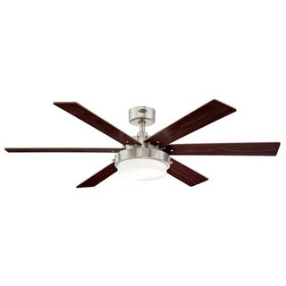 "Westinghouse Alloy II 52"" Indoor Ceiling Fan With LED Light Kit"