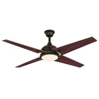 "Westinghouse Desoto 52"" Indoor Ceiling Fan With LED Light Kit"