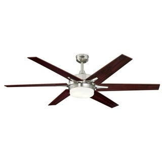 "Westinghouse Cayuga 60"" Indoor Ceiling Fan With Dimmable LED Light Kit"