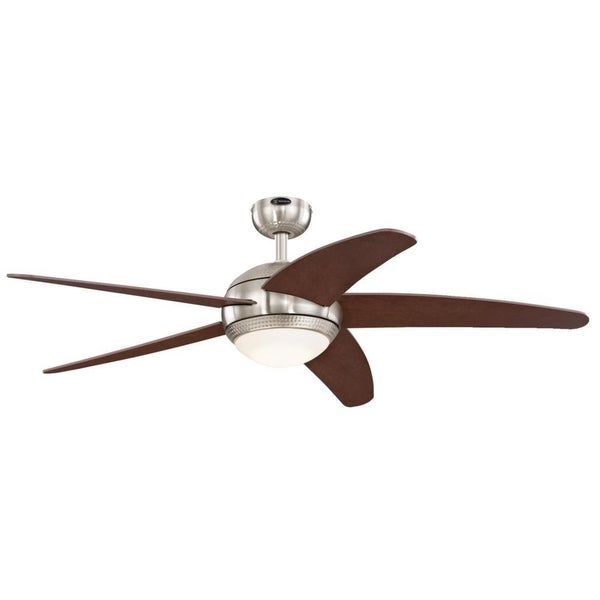 "Westinghouse Bendan LED 52"" Indoor Ceiling Fan w/ Dimmable LED Light"