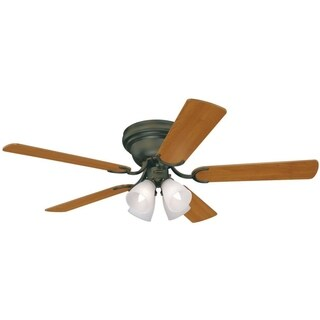 "Westinghouse Contempra IV 52"" Indoor Ceiling Fan With Light Kit"