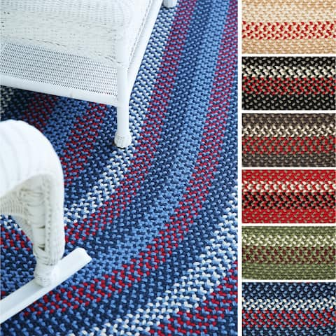 Rhody Rug Mission Hill Indoor/Outdoor Braided Rug
