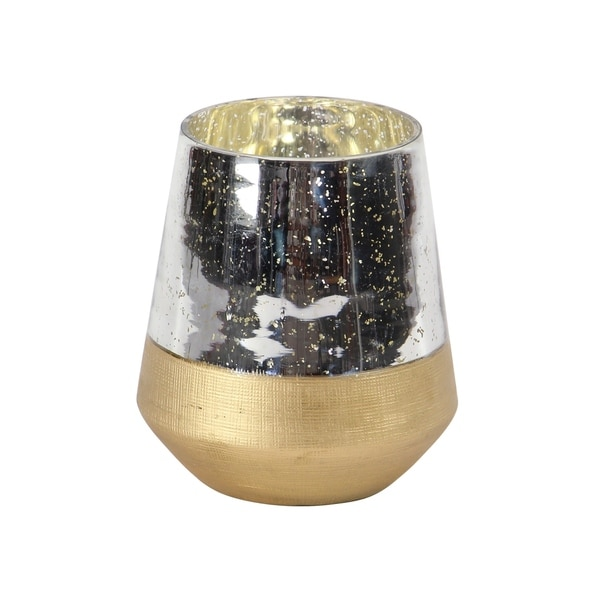 Contemporary 7 x 6 Inch Candle Holder