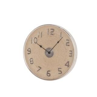 Modern 18 x 18 Inch Round Wall Clock