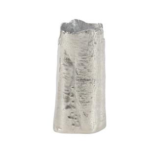 Contemporary 11 x 6 Inch Aluminum Flower Vase