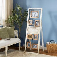 Traditional 63 Inch Standing Wooden Wall Photo Frame by Studio 350