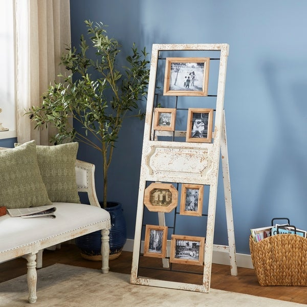 Traditional 63 Inch Standing Wooden Wall Photo Frame by Studio 350. Opens flyout.
