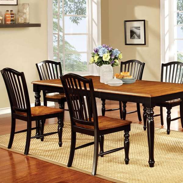 Shop The Gray Barn Bullhouse Two-tone Country Style Dining ...
