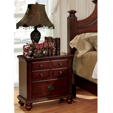 a9e226942a Buy Cherry Finish Nightstands & Bedside Tables Online at Overstock ...