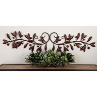 Copper Grove Welaka Metal Round Wall Decor