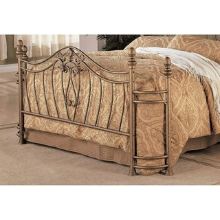 Copper Grove Hightower Iron Goldtone Headboard and Footboard