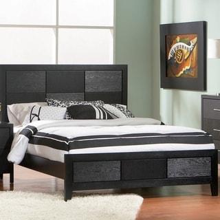 Porch & Den Hale Grove Black Panel Bed